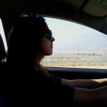 The ride out to Barstow...
