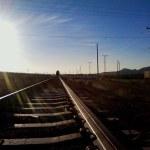 The train tracks! At last!