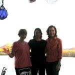 Tina D'Marco, Deborah Geffner, Perry Smith.