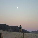 Raffi sets up his moon shot.