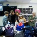 ...choosing costumes...
