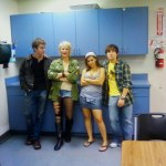 Austin, Anastasia, Ally, and Lendon.
